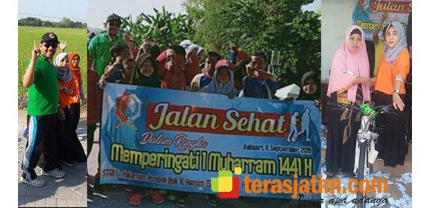 Jalan Sehat Muharam di Kalisari Bojonegoro Membludak