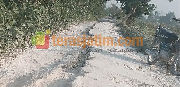 Jarang Tersentuh Pembangunan, Jalur Antar Desa Rusak Parah
