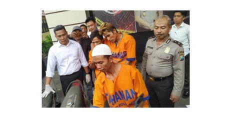 Jatanras Polda Jatim Gulung Alap-Alap Motor Spesialis Persawahan di Malang