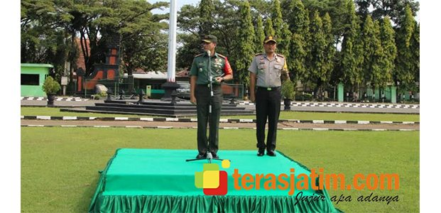 Jelang Kunjungan Presiden, Danrem Baladhika Jaya Siagakan Personel TNI-Polri