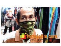 Jelang Lebaran, Pedagang Pakaian di Pasar Kota Lamongan Mengaku Sepi