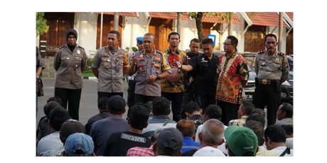 Jelang Tutup Tahun, Polrestabes Surabaya Amankan Ratusan Preman
