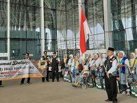 Jemaah Calon Haji Kloter Pertama Embarkasi Surabaya, Mendarat di Madinah