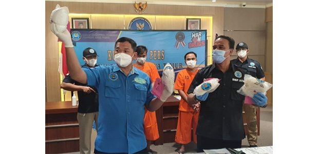 BNN Jatim Gagalkan Pengiriman 4 Kg Sabu ke Madura