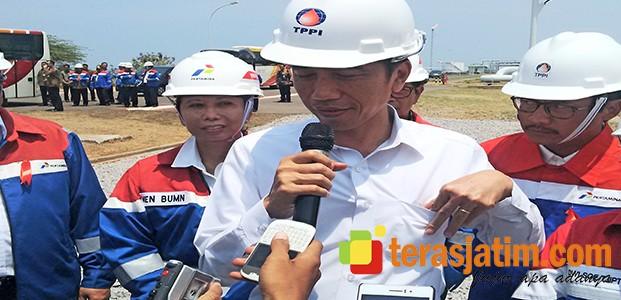 Presiden Jokowi Berharap Tidak Ada Impor Minyak