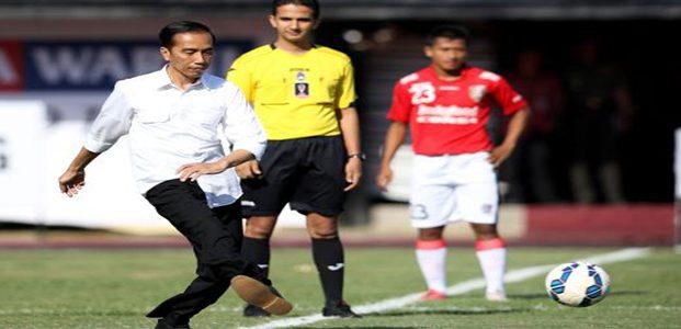 Presiden Jokowi Buka Piala Sudirman