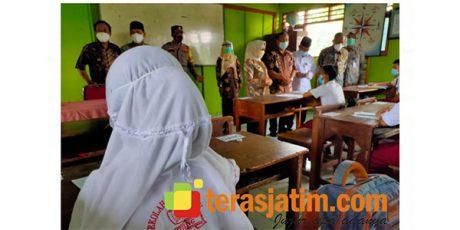 Hari Pertama PTM Terbatas di Kabupaten Jombang Sesuai Prokes