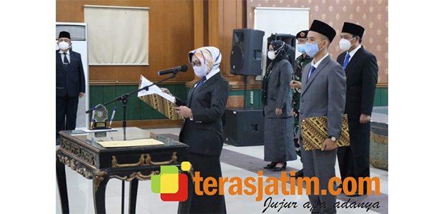 Bupati Jombang Lantik Pj Sekda, 5 Kepala OPD dan Sejumlah Pejabat Lain