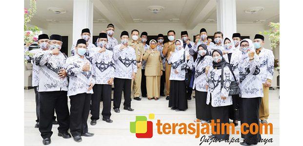 Bupati Terima Kunjungan Pengurus PGRI Jombang Periode 2020-2025