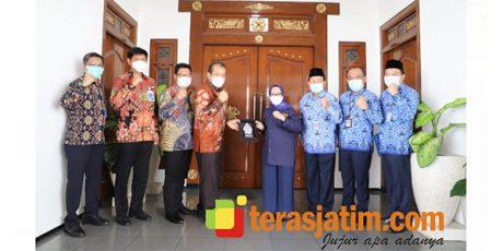 Bupati Jombang Menerima Kunjungan Pimpinan Wilayah Surabaya BNI 46