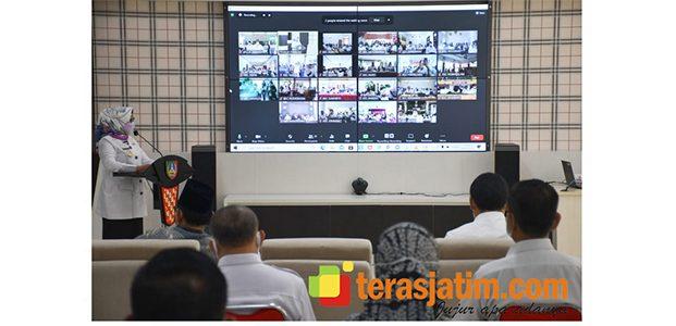 Bupati Jombang Launching Perbup Tentang DD, ADD dan PDRT Tahun 2021