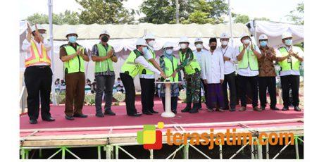 Bupati Hadiri Ground Breaking Pembangunan Gedung 7 Lantai Milik BPR Bank Jombang