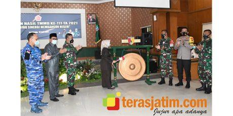 TMMD di Kabupaten Jombang Resmi Ditutup