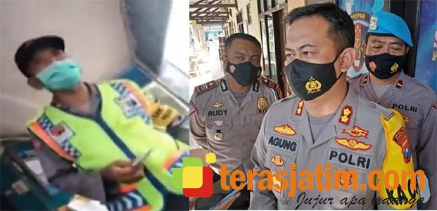 Viral Pungli Tawar Menawar Biaya Tilang, Oknum Perwira Polisi di Jombang Dicopot