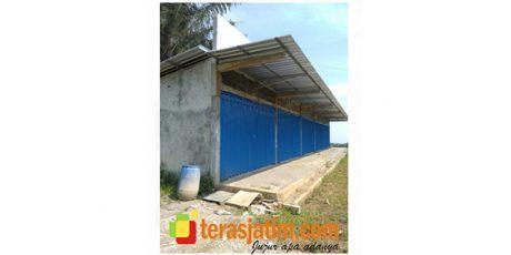 Gunakan DD 2020, Pembangunan Pasar Desa Carangwulung Jombang Masih Mangkrak