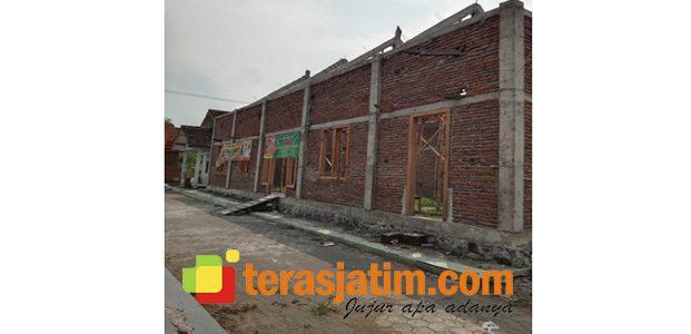 Dana BK Untuk Pengerjaan Rehab Gedung Desa Jatimlerek Jombang Tak Tuntas
