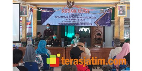 "Sosialisasi ""Gempur Rokok Illegal"" Kali ini Dilanjutkan di Kebon Agung Jombang"