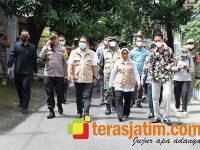 Bupati dan Forkopimda Jombang Pantau 6 Posko PPKM Mikro