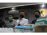 Jual Masker Ilegal dari China, Pasutri Asal Pasuruan Diciduk Polisi