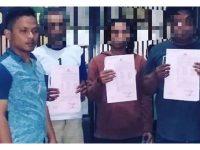 Jual Togel, 3 Pria asal Kauman Tulungagung Ditangkap