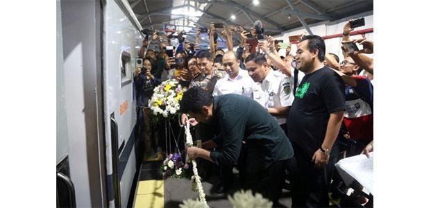 KA Sancaka Utara Relasi Surabaya Pasar Turi-Kutoarjo Resmi Dilaunching