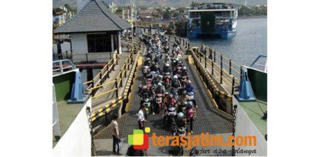 Jelang Awal Ramadhan, Roda Dua Dominasi Penyeberangan Pelabuhan Ketapang