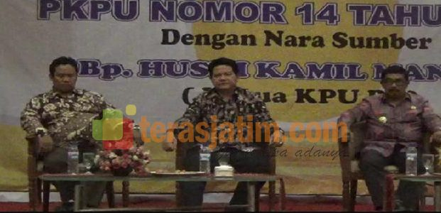 Ketua KPU Pusat, Jelaskan PKPU Pilkada Calon Tunggal