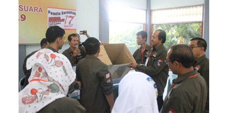 KPU Surabaya Gelar Simulasi Pemilu 2019