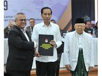 KPU Tetapkan Jokowi – Ma'ruf Amin Jadi Presiden dan Wakil Presiden RI 2019-2024