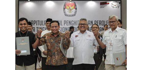 KPU Tetapkan Pasangan Jokowi-Ma'ruf Amien Pemenang Pilpres 2019