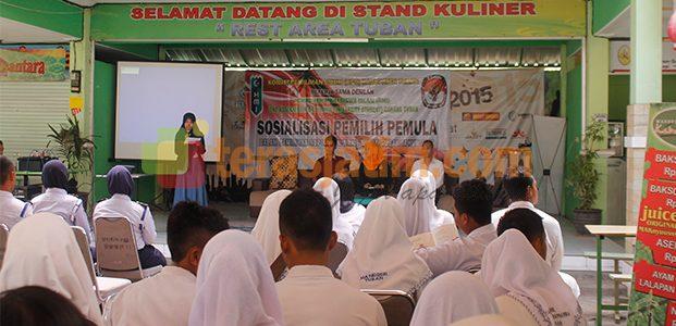 KPU Tuban Berharap 20% Pemilih Pemula, Gunakan Hak Pilih