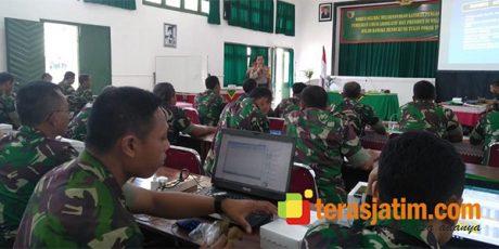 KPUD Kota Malang Sosialisasikan Proses DPT di Korem Baladhika Jaya