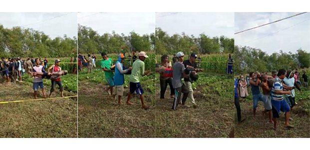 Tragis, 1 Keluarga di Kanor Bojonegoro Ditemukan Tewas di Sawah