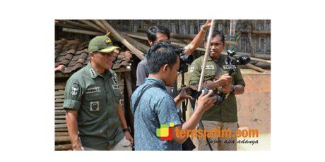 Kapendam Brawijaya Ajak Wartawan Pantau Pelaksanaan TMMD di Sumenep