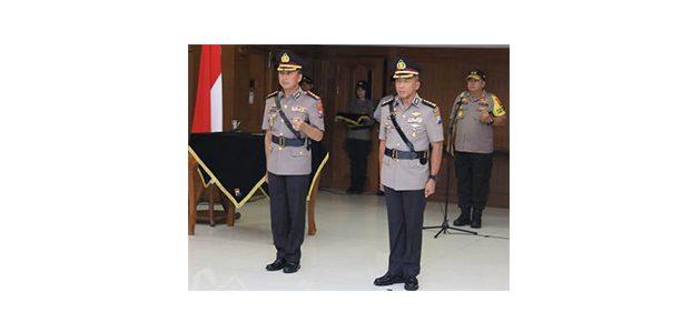 Kapolda Jatim Pimpin Sertijab Kapolrestabes Surabaya