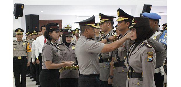 Kapolrestabes Surabaya Pimpin Sertijab Kasat Reskrim