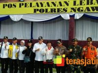 Kapolri dan Panglima TNI Cek Kesiapan Tol Ngawi
