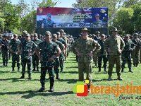 Kasad Indonesia dan Australia Saksikan Puncak Latihan Bersama Wirra Jaya Ausindo 2019 di Situbondo