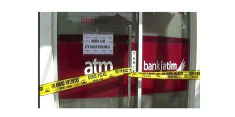 Kasus Pembobolan ATM Bank Jatim di Blitar, Polisi Masih Lakukan Penyelidikan