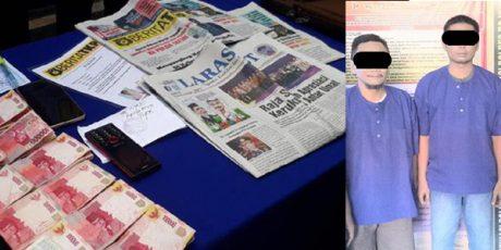 Kasus Pemerasan Dua Oknum Wartawan Terhadap Kades Pejok Bojonegoro, Siap Disidangkan