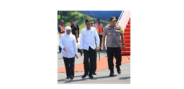 Ke Jatim, Presiden Jokowi Resmikan Tol Pandaan-Malang