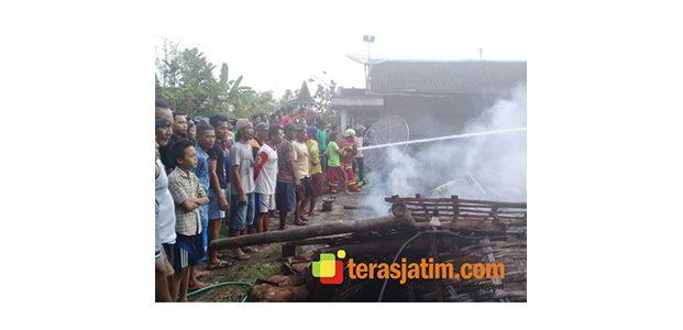 Kebakaran, Rumah Warga Bayemgede Bojonegoro Rata dengan Tanah