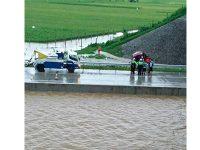 Kebanjiran, Tol Madiun KM 603-604 Ditutup