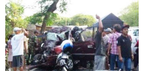 Kecelakaan Maut di Jalur Selatan Probolinggo, 7 Penumpang Kijang Tewas Dihantam Trailer