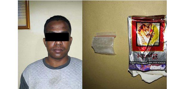 Kedapatan Bawa Sabu, Pria asal Taman Madiun Ditangkap Polisi Kediri