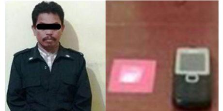 Kedapatan Bawa Sabu, Seorang Pedagang asal Kabat Banyuwangi Dicokok Polisi