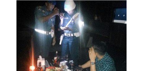 Kedapatan Nongkrong di dalam Diskotik, Seorang Oknum TNI Diamankan