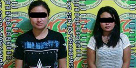 Kedapatan Simpan Sabu di Mobilnya, 2 Wanita Cantik Dicokok Polisi Banyuwangi