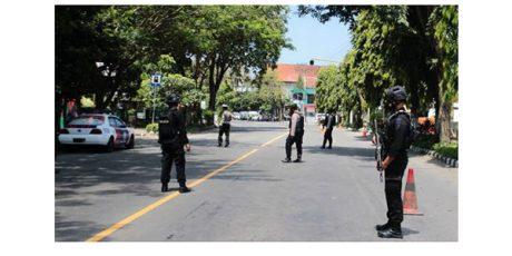 Tim Jibom Polda Jatim Ledakkan Tas Misterius di DPRD Kota Kediri