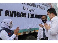 Kementerian BUMN Kembali Beri Bantuan Alat Penanganan Covid-19 di Jatim